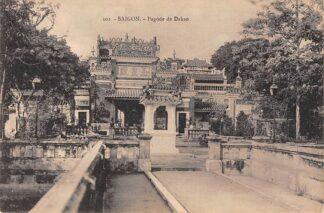 Ansichtkaart Vietnam Saigon Ho Chi Minhstad Pagode de Dakao Azië HC18905