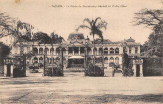 Ansichtkaart Vietnam Saigon Ho Chi Minhstad Le Palais de Gouverneur Genral de l'Indo-Chine Azië HC18906