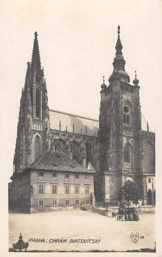 Ansichtkaart Tsjechië Praha Chram Svatovitsky Fotokaart Czech Republic Europa  HC18911