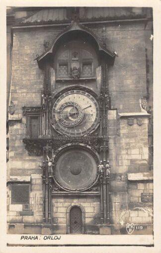 Ansichtkaart Tsjechië Praha Orloj Fotokaart Czech Republic Europa HC18912