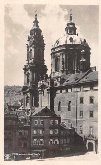 Ansichtkaart Tsjechië Praha Mikulassky Chram Fotokaart Czech Republic Europa HC18914