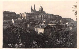 Ansichtkaart Tsjechië Praha Hradcany Fotokaart Czech Republic Europa HC18945