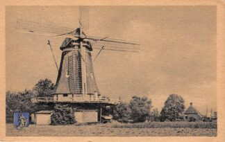 Ansichtkaart Hulshorst bij Nunspeet Molen 1953 Veluwe HC18971