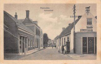 Ansichtkaart Harmelen Kalverstraat met Smederij HC18975