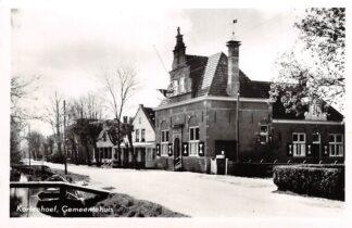 Ansichtkaart Kortenhoef Gemeentehuis 1954 Bij Hilversum HC18982
