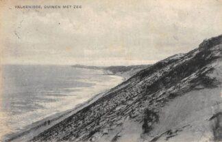 Ansichtkaart Valkenisse Duinen met zee 1920 Waarde Reimerswaal HC18988