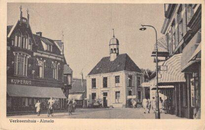 Ansichtkaart Almelo Verkeershuis 1950 HC19041