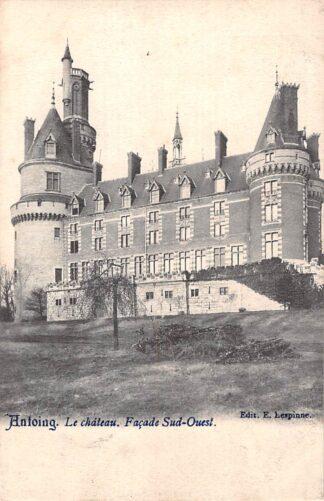 Ansichtkaart België Antoing Le Chateau Facade Sud-Est 1904 Kasteel Europa HC19085