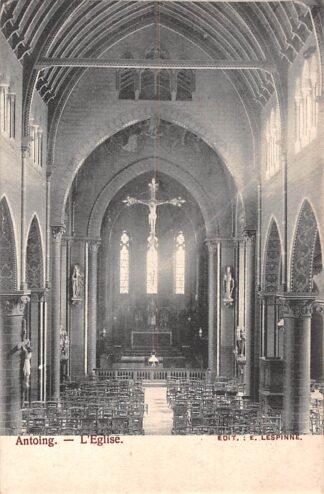 Ansichtkaart België Antoing L'Eglise 1904 Europa HC19090