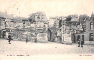 Ansichtkaart België Antoing Entree du Chateau Kasteel 1904 Europa HC19096