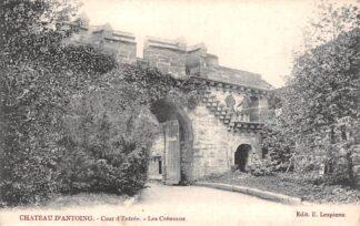 Ansichtkaart België Antoing Chateau Cour d'Entree Les Creneaux 1904 Kasteel Europa HC19098