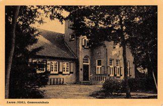 Ansichtkaart Laren (GD) Gemeentehuis HC19118