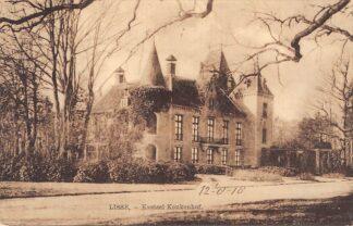 Ansichtkaart Lisse Kasteel Keukenhof 1918 HC19223