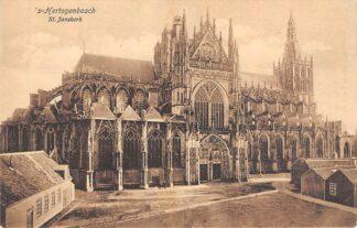 Ansichtkaart 's-Hertogenbosch St. Jans kerk 1914 HC19226