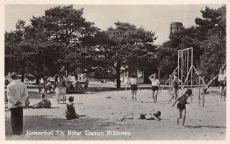 Ansichtkaart Bilthoven Natuurbad De Biltse Duinen Speeltuin Watertoren Zwembad 1950 HC19248