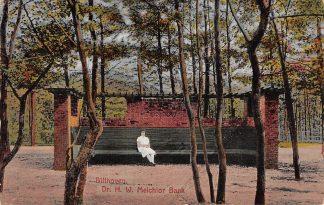Ansichtkaart Bilthoven Dr. H.W. Melchior Bank 1930 HC19265