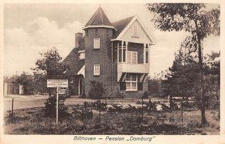 Ansichtkaart Bilthoven Pension Domburg Herstellingsoord voor kinderen HC19292