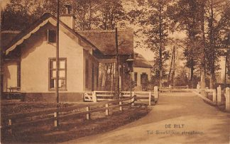 Ansichtkaart De Bilt Tol Soestdijker Straatweg 1922 HC19308