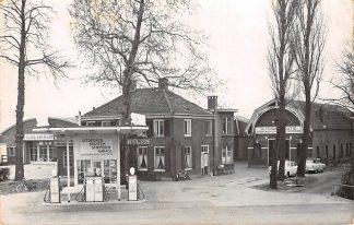 Ansichtkaart De Bilt Utrechtseweg Fotokaart Garage Buitenweg SHELL benzinepomp HC19310