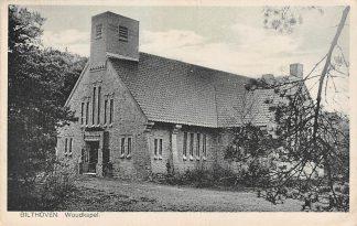 Ansichtkaart Bilthoven Beethovenlaan 21 Woudkapel 1938 Kerk HC19321