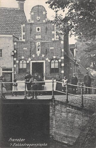Ansichtkaart Franeker 't Zakkedragerspiepke HC19348