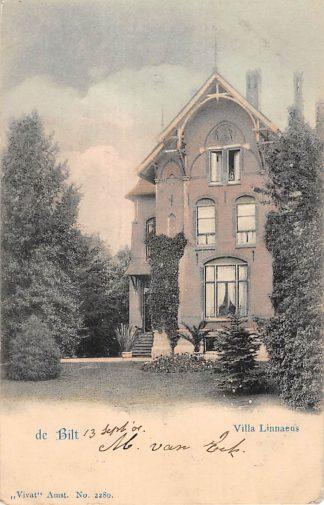 Ansichtkaart De Bilt Villa Linnaeus 1901 Vivat No. 2280 HC19353