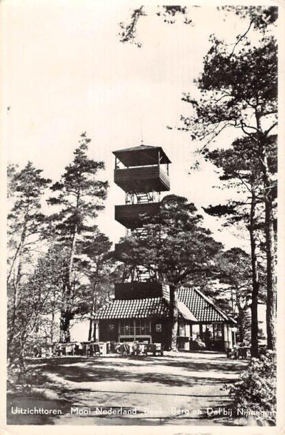 Ansichtkaart Beek (LB) - Berg en Dal bij Nijmegen 1954 Uitzichttoren Mooi Nederland HC19407