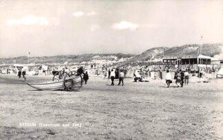 Ansichtkaart Bakkum Castricum aan Zee Strand en duinen 1961 HC19417