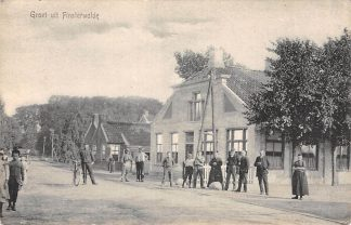 Ansichtkaart Finsterwolde Groet uit Oldambt Groningen HC19455