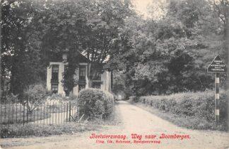 Ansichtkaart Beetsterzwaag Weg naar Boombergen Opsterland Drachten HC19471