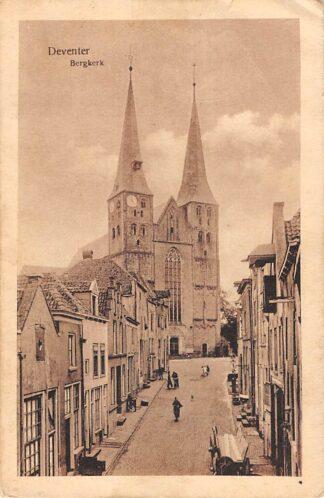 Ansichtkaart Deventer Bergkerk 1926 HC19484