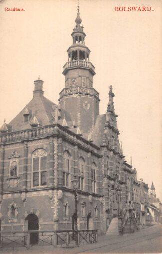 Ansichtkaart Bolsward Stadhuis HC19495