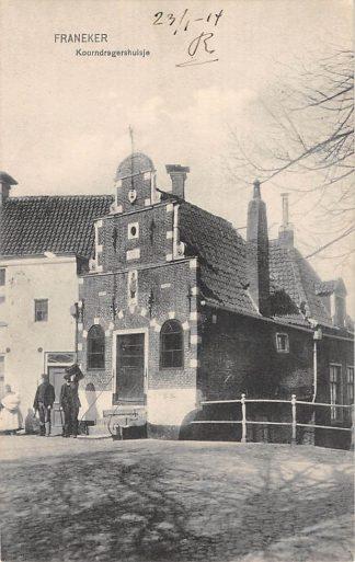 Ansichtkaart Franeker Koorndragershuisje 1914 HC19499