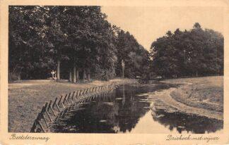 Ansichtkaart Beetsterzwaag Driehoek met vijver 1940 HC19519
