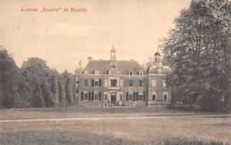 Ansichtkaart Ruurlo Kasteel Ruurlo te Ruurlo 1917 HC19537