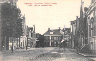 Ansichtkaart Gorredijk Noordoost Dubbele straat Opsterland HC19554