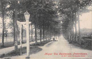 Ansichtkaart Frederiksoord Majoor van Swietenlaan Vledder Westerveld HC19555