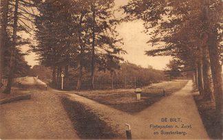 Ansichtkaart De Bilt Fietspaden naar Zeist en Soesterberg 1928 HC19575