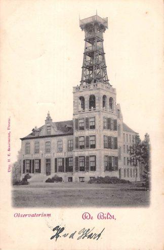 Ansichtkaart De Bildt De Bilt Observatorium 1900 Kleinrondstempel Hasselt HC19593