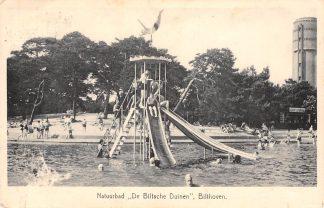 Ansichtkaart Bilthoven Natuurbad De Biltsche Duinen met watertoren Zwembad 1952 HC19602