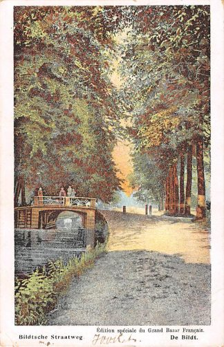 Ansichtkaart De Bildt De Bilt Bildtsche Straatweg 1908 Kleinrondstempel Kamperland HC19645