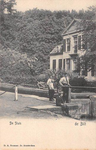 Ansichtkaart De Bilt De Sluis rond 1900 HC19648