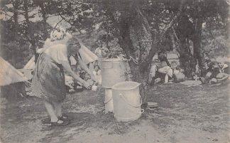 Ansichtkaart Bilthoven A.J.C. Weekeindkamp Watervoorziening 1927 SDAP NVV HC19790