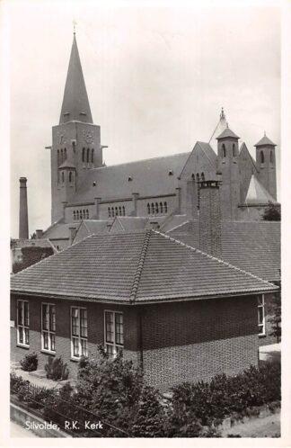 Ansichtkaart Silvolde R.K. Kerk Terborg Achterhoek 1953 HC19814
