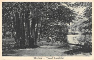 Ansichtkaart Olterterp Twaalf Apostelen 1934 Opsterland HC19833