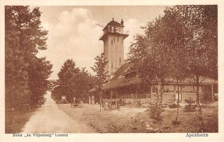 Ansichtkaart Apeldoorn Hotel de Vrijenberg Loenen (GD) HC19834