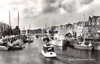 Ansichtkaart Brielle Maarlandsche Haven 1966 Schepen HC19842