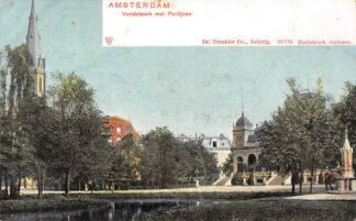 Ansichtkaart Amsterdam Vondelpark met Paviljoen HC19844