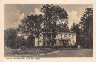 Ansichtkaart Huis ter Heide Nieuw Zandbergen Zeist HC19855