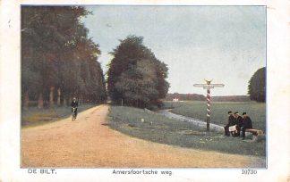 Ansichtkaart De Bilt Amersfoortsche weg 1916 HC19868